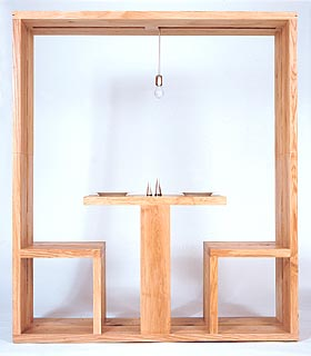 Small space dining cube