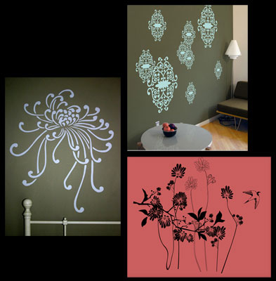 Removable walldecals