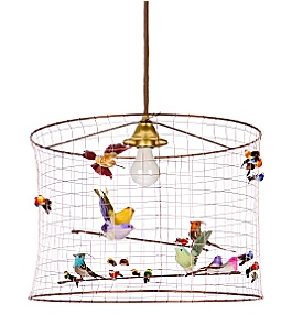 Anthropologie Songbird Chandelier