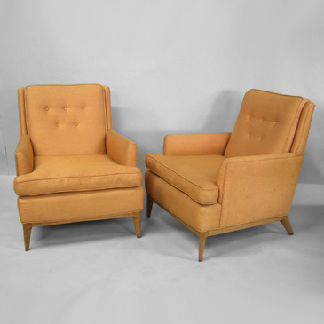 Tom Gibbs Studio high back armchairs