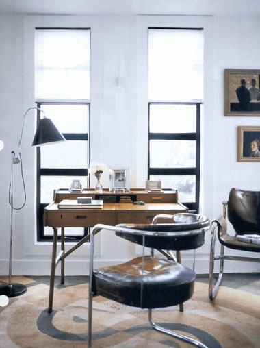 Vintage feel home office