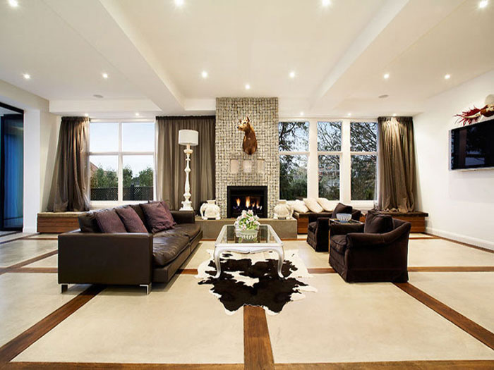 Marcus Martin's Toorak living room space