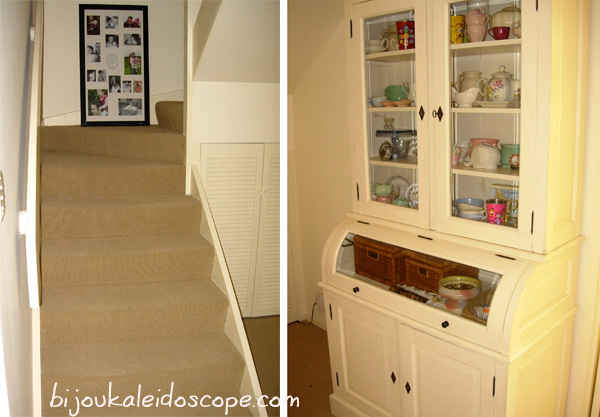 The new white cabinet for our Hallway Mar 2008