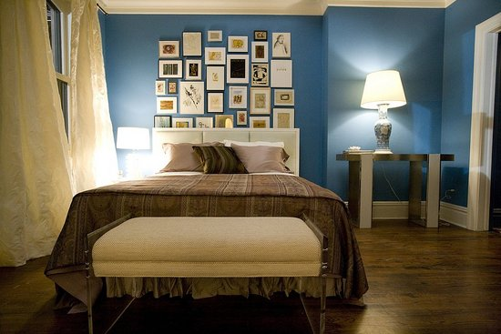 Carrie's new bedroom, Sex and the City