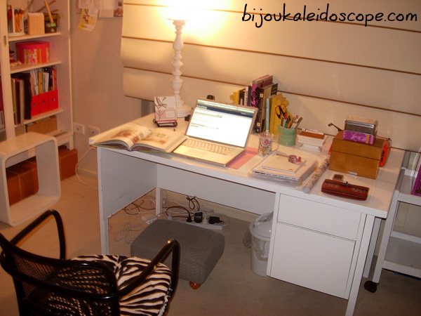 My new home office area