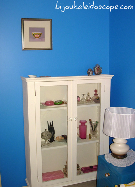 My shabby chic vanity cupboard in our master bedroom 2008