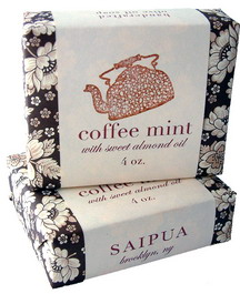Coffee Mint soap from Saipua
