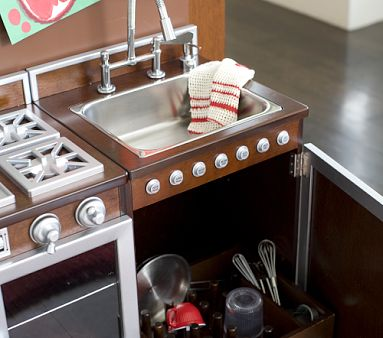 Toy kitchen from Pottery Barn