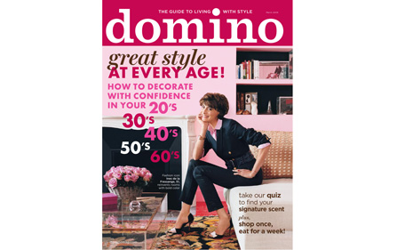 Domino magazine cover