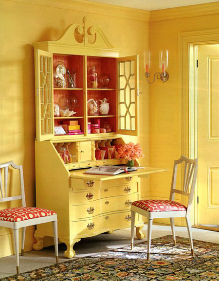 The secretaire Eddie Ross made over whilst at Martha Stewart for a feature in her magazine