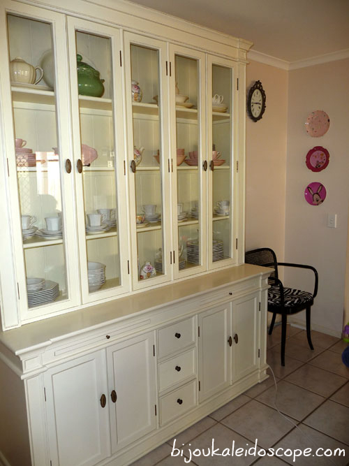 Our Provincial Home Living china cabinet purchase. ebay   bijou kaleidoscope