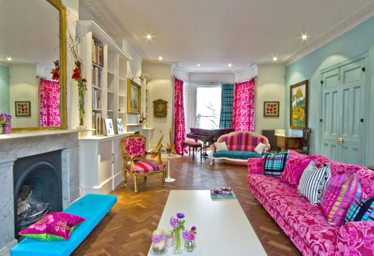 A home in London, via Daisy Pink Cupcake
