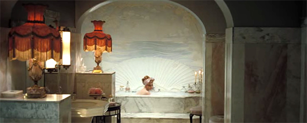 Enchanting bathroom, Miss Pettigrew Lives for A Day