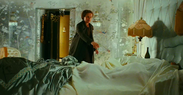 Delysia's bedroom, Miss Pettigrew Lives for A Day