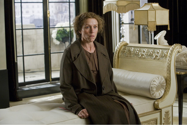 Frances Dormand in Miss Pettigrew Lives for A Day