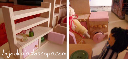 The furniture that came with that dollhouse.