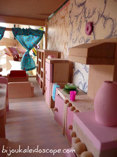 Kitchen in our dollhouse