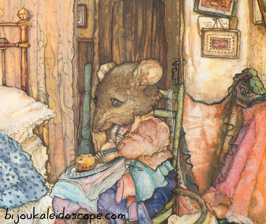 Scanned from The Mice of Nibbling Village by Margaret Greaves.