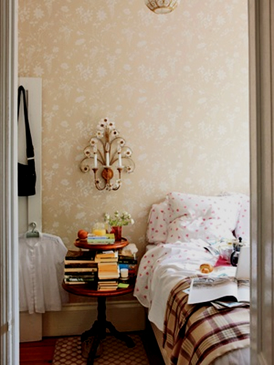 Rita Konig's beautiful dreamy bedroom