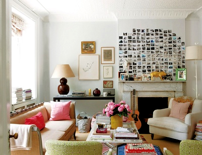 Rita Konig's living room