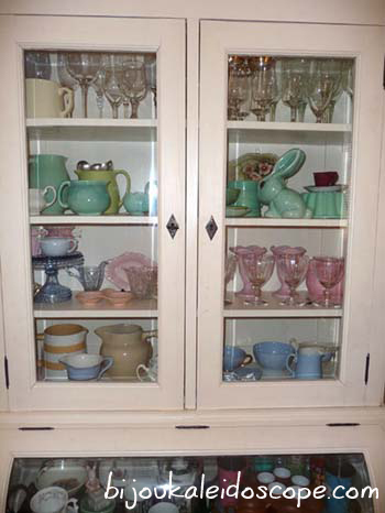 The white china cabinet, via http://bijoukaleidoscope.com/confessions-of-a-collectaholic/