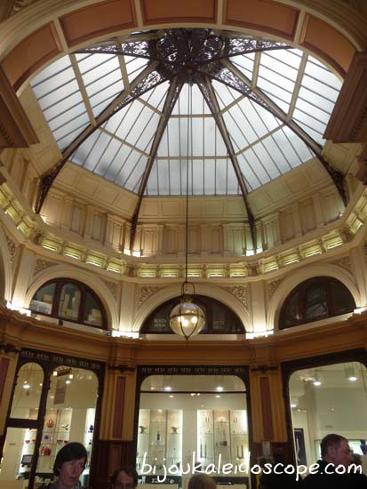 Beautiful dome centre of the Block Arcade, Melbourne