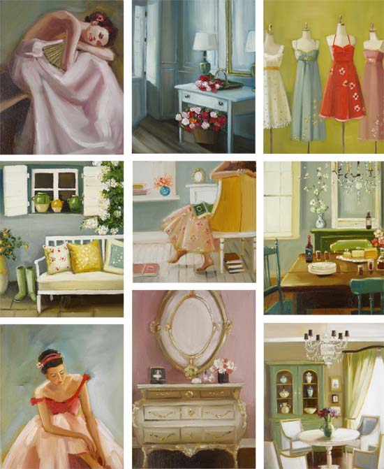Some of my favourites from Janet Hill @ Etsy