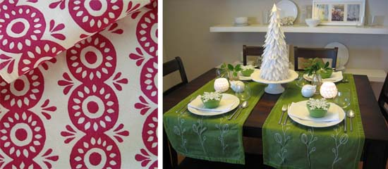 Tablecloth, via HomeSweet