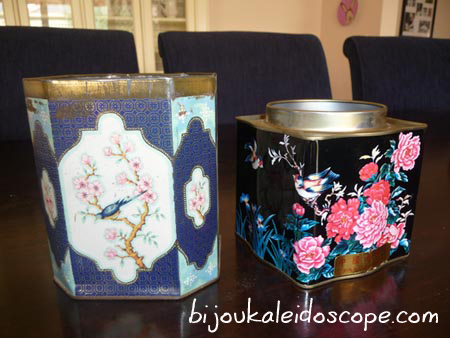 My vintage tea tins