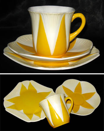 Shelley art deco dinnerware