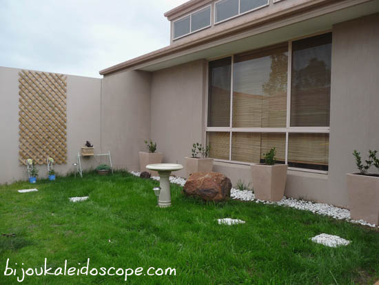 Side garden all done up