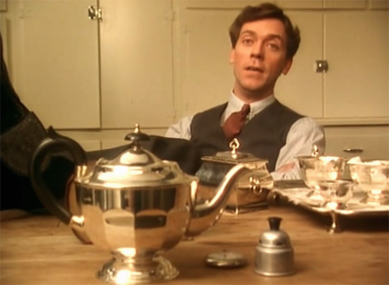 Wooster's silver, Jeeves & Wooster