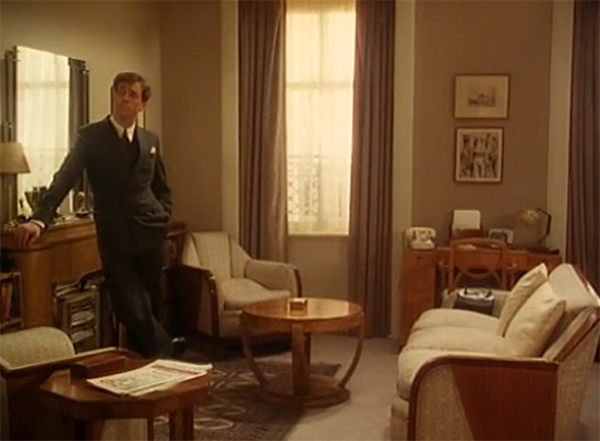 Wooster's living room,  Jeeves & Wooster