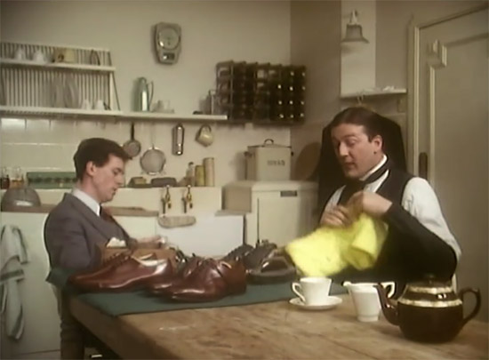 Wooster's kitchen, Jeeves & Wooster