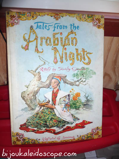 My vintage copy of The Tales of Arabian Nights.