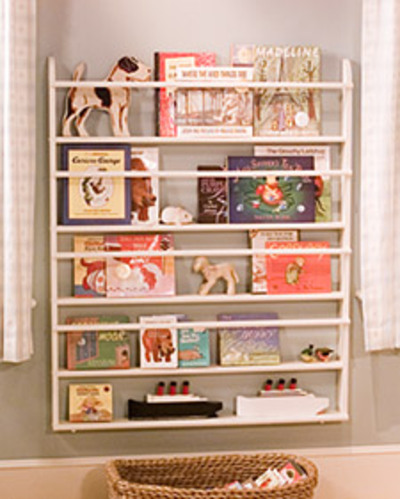 Plate rack used to display books