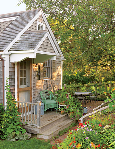 Beautiful cladded porch