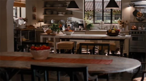 The kitchen in It's Complicated