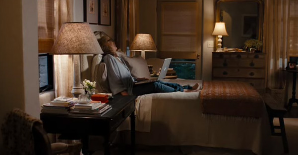 Streep's simple bedroom, It's Complicated