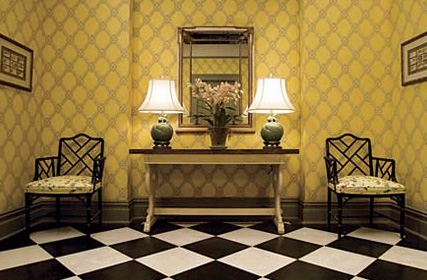 Foyer: Set from Nanny Diaries