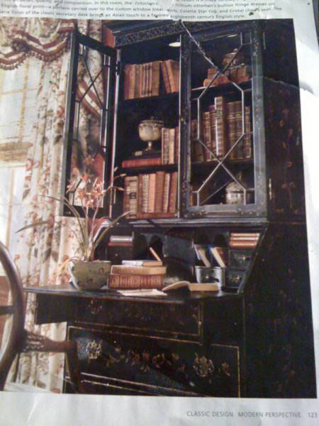 The Ethan Allen Inspiration for the Secretaire Makeover