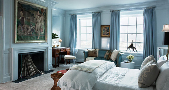 Candia Fisher's bedroom, via Aman & Carson