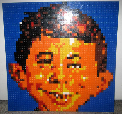 Alfred E. Newman in Lego, Etsy: Motion5, as found on technabob.com