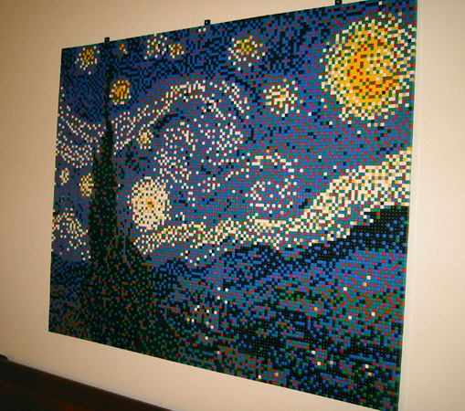 Van Gogh's Starry Starry night, via Ed Hall