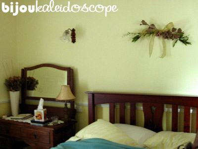 One of the bed and breakfasts at the South Coast that we went to on our honeymoon.