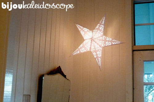 Pierced star at the Huskisson Bay B&B