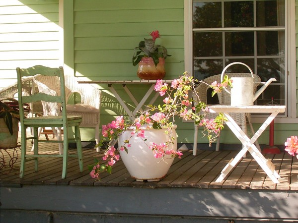 Porch at Huskisson Bed and Breakfast