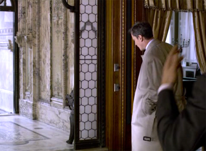 The entrance hall in White Collar