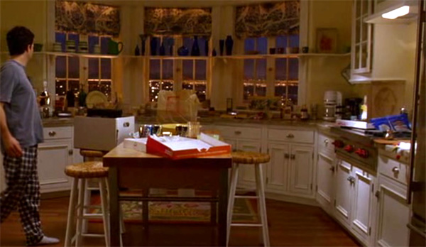 Kitchen, Elizabeth's apartment, Just Like Heaven