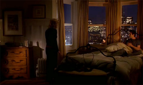 Bedroom, Elizabeth's apartment, Just Like Heaven